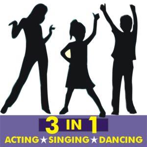 3-in-1 Acting, Singing, Dancing